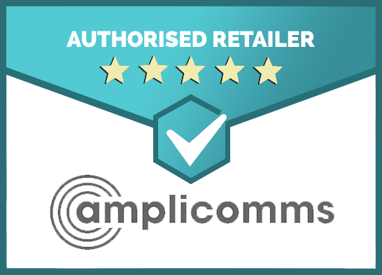 We Are an Authorised Retailer of Amplicomms Products