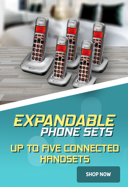 Expandable Amplified Phone Sets for Care Homes and Offices