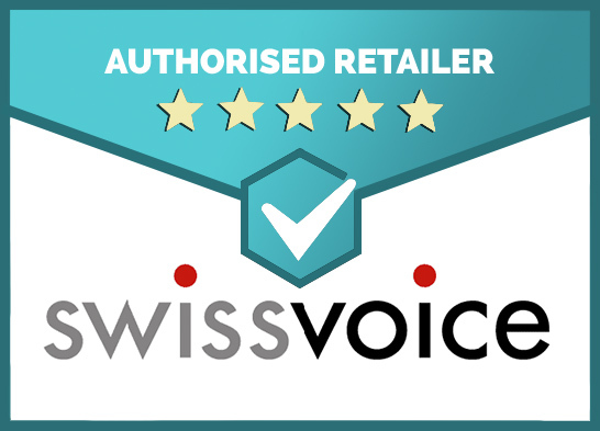 We Are an Authorised Retailer of Swissvoice Products