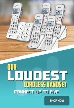 AmpliDECT 595 - Our Loudest Cordless Phone