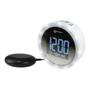 Geemarc Wake N Shake Star Extra Loud Alarm Clock with Vibrating Pad