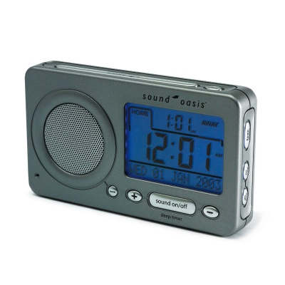 Sound Oasis Travel Alarm Clock for Relaxation