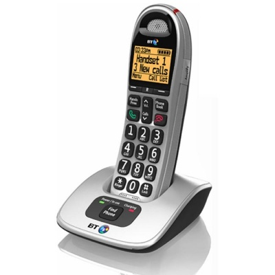 BT BT4000 Big Button Amplified Cordless Telephone