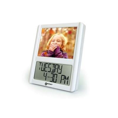 Geemarc Viso 5 Digital Clock with Picture Frame