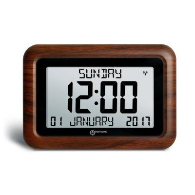 Geemarc Viso10 Wood Effect Dementia Clock