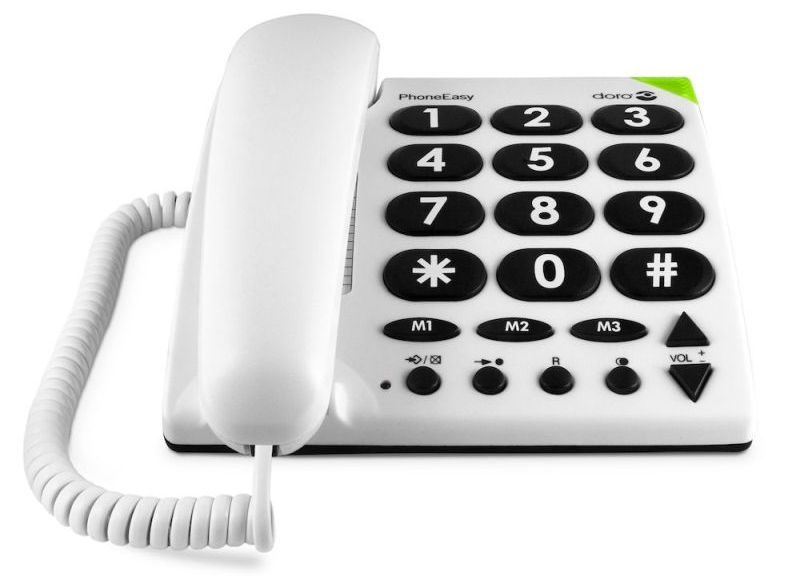 Doro 311c PhoneEasy Big Button Corded Telephone