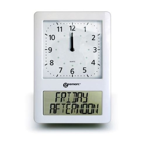 VISO 10 EXTRA LARGE ATOMIC CLOCK HELPFUL FOR DEMENTIA AND ALZHEIMER SUFFERERS U