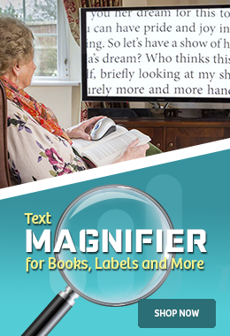 Our Best Text Magnifier for the Visually Impaired