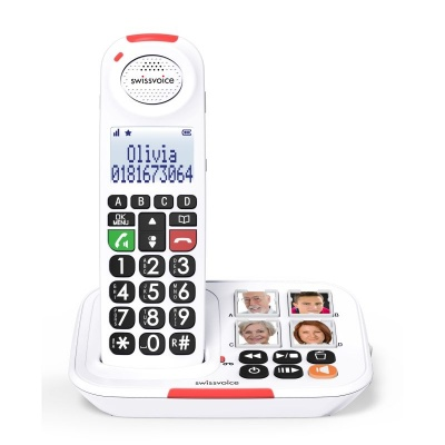 Swissvoice Xtra 2155 Amplified Cordless Telephone with Photo Buttons