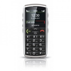 Emporia Classic 2G Amplified Simple Mobile Phone for Seniors