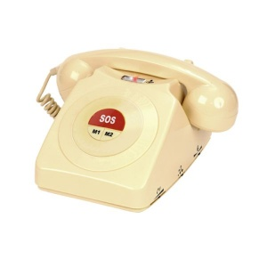 Geemarc CL64 Classic Amplified Telephone for the Hearing and Memory Impaired