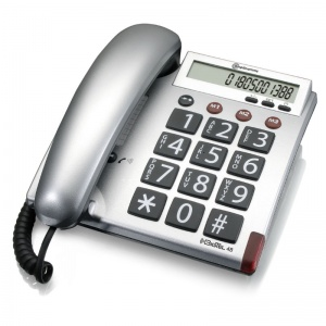 Amplicomms BigTel 48 Big Button Corded Telephone