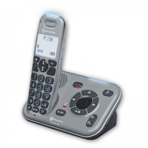 Amplicomms PowerTel 1780 Amplified Cordless Telephone with Integrated Answering Machine