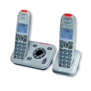 Amplicomms PowerTel 2780 Amplified Cordless Telephone Twin Pack