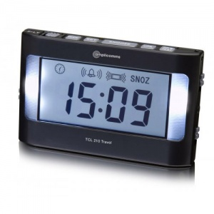 Amplicomms TCL 210 Vibrating Travel Alarm Clock