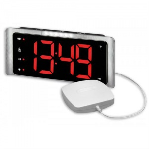 Amplicomms TCL 410 Extra-Loud Alarm Clock with Vibrating Pillow Pad