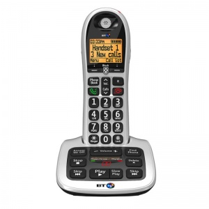 BT BT4600 Big Button Cordless Telephone with Answer Machine