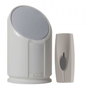 Byron Portable Flash Chime Doorbell for the Hard of Hearing BY301