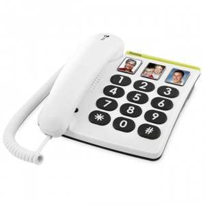 Doro PhoneEasy 331ph Photo Big Button Telephone