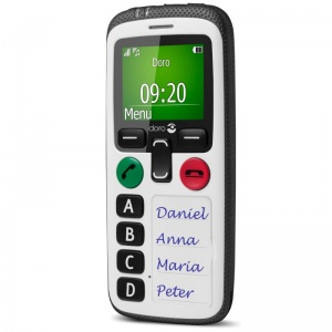 Doro Secure 580 Amplified Safety Mobile Phone