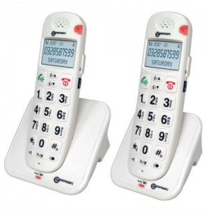 Geemarc AmpliDECT 260 Amplified Cordless Telephone Twin Pack