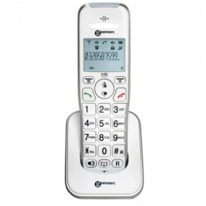 Extra Handset for Geemarc AmpliDECT 295 Amplified Cordless Telephone with Answering Machine