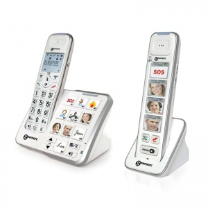 Geemarc AmpliDECT 295 Photo Amplified Cordless Telephone Photo Pack