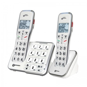 Geemarc AmpliDECT 595 Amplified Cordless Phone Twin Set