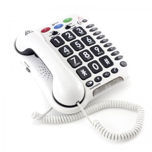 Geemarc Amplipower 50 White Amplified Telephone