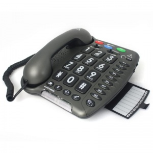Geemarc Amplipower 50 Black Amplified Telephone