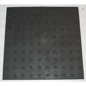 Black Loop Mat for Geemarc LoopHear 160 and LoopHear 150 Listening Aids