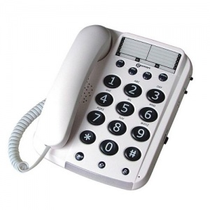 Geemarc Dallas10 Big Button Amplified Telephone