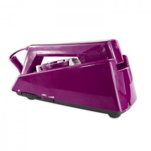 Geemarc Purple Trimline Retro Corded Telephone