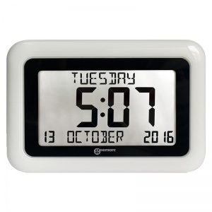 Geemarc Viso10 Day/Date Clear Display Clock