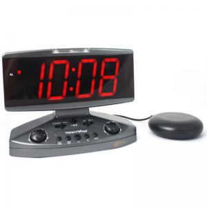 Geemarc Wake N Shake Alarm Clock with Pillow Shaker
