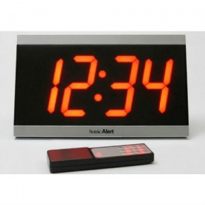 Sonic Alert Extra Large Display Clock with Remote