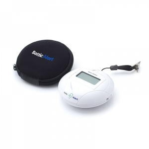 Sonic Bomb Vibrating Travel Alarm Clock