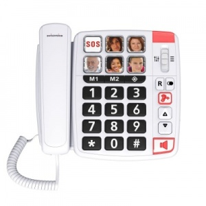 Swissvoice Xtra 1110 Amplified Corded Telephone with Photo Buttons
