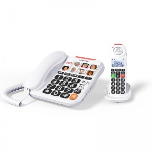 Swissvoice Xtra 3155 Corded Amplified Telephone with Extra Handset