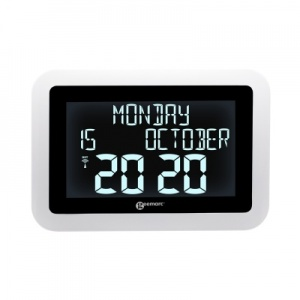 Geemarc Viso15 Large Digital Dementia Clock