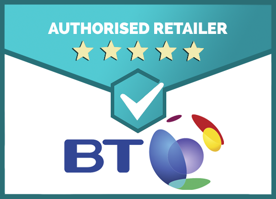 We Are an Authorised Retailer of BT Products