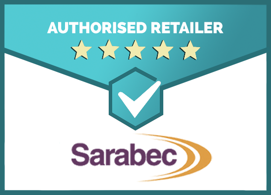 We Are an Authorised Retailer of Sarabec Products