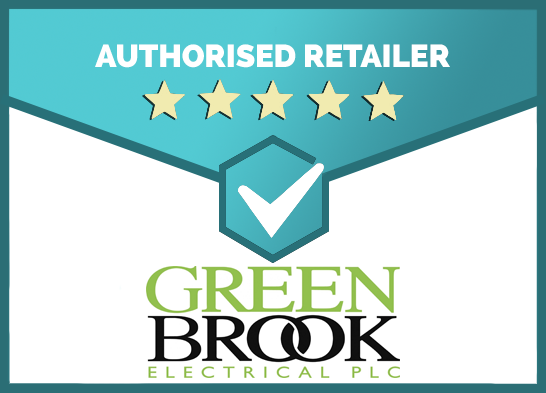 We Are an Authorised Retailer of Green Brook Products